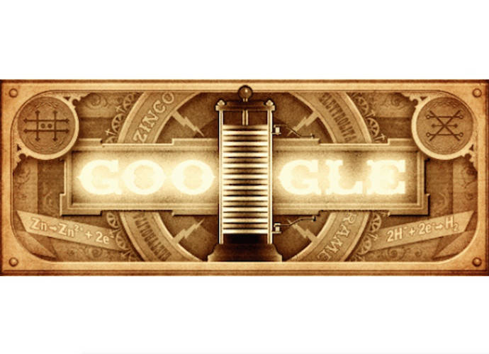 Google Doodle Celebrates Alessandro Volta, Scientist Who Helped Create The Battery