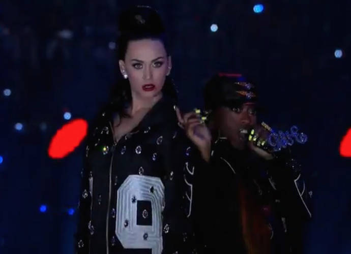 Katy Perry, Lenny Kravitz And Missy Elliott Put On Explosive Super Bowl Halftime Show With Dancing Sharks & Palm Trees