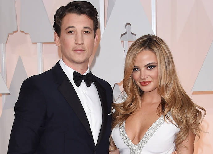 Miles Teller And Keleigh Sperry Save A Pregnant Woman (Maybe)