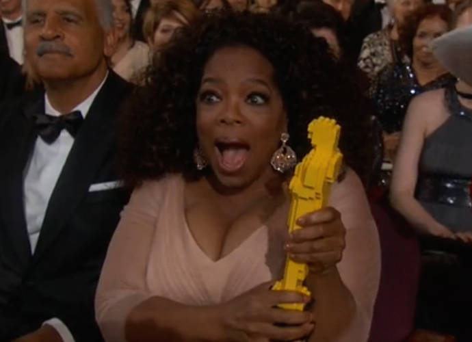 Oprah Winfrey Ducked Under The Velvet Rope At The Oscars