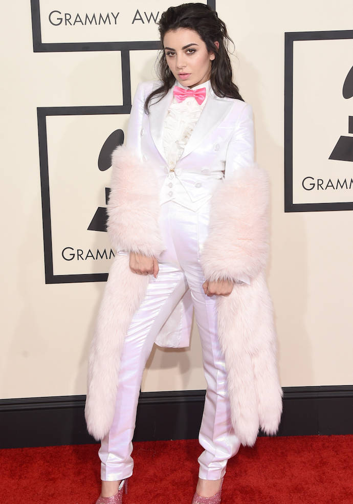 Get The Look: Charli XCX's Grammys' 2015 Pantsuit