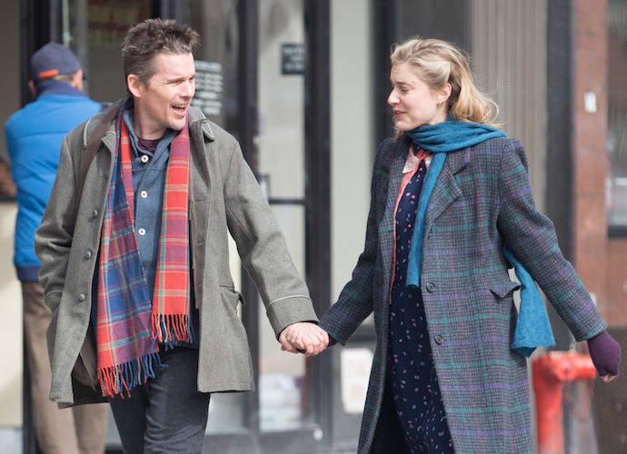 Greta Gerwig And Ethan Hawke Film 'Maggie's Plan'