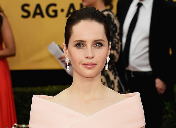 Felicity Jones To Star In 'Star Wars' Spinoff 'Rogue One'