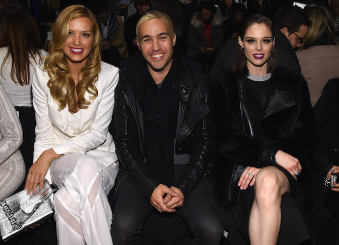 Petra Nemcova, Pete Wentz and Coco Rocha Attend New York Fashion Week Show