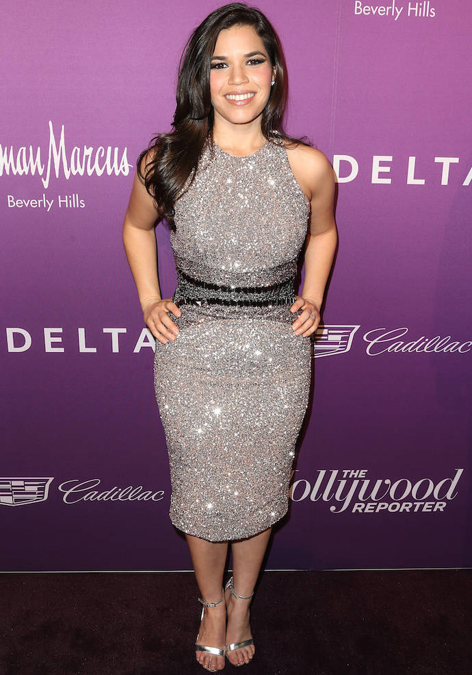 America Ferrera Dazzled At 'Hollywood Reporter's Oscar Nominees Party