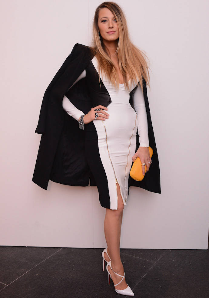 Blake Lively Debuts Post Baby Body At NYFW