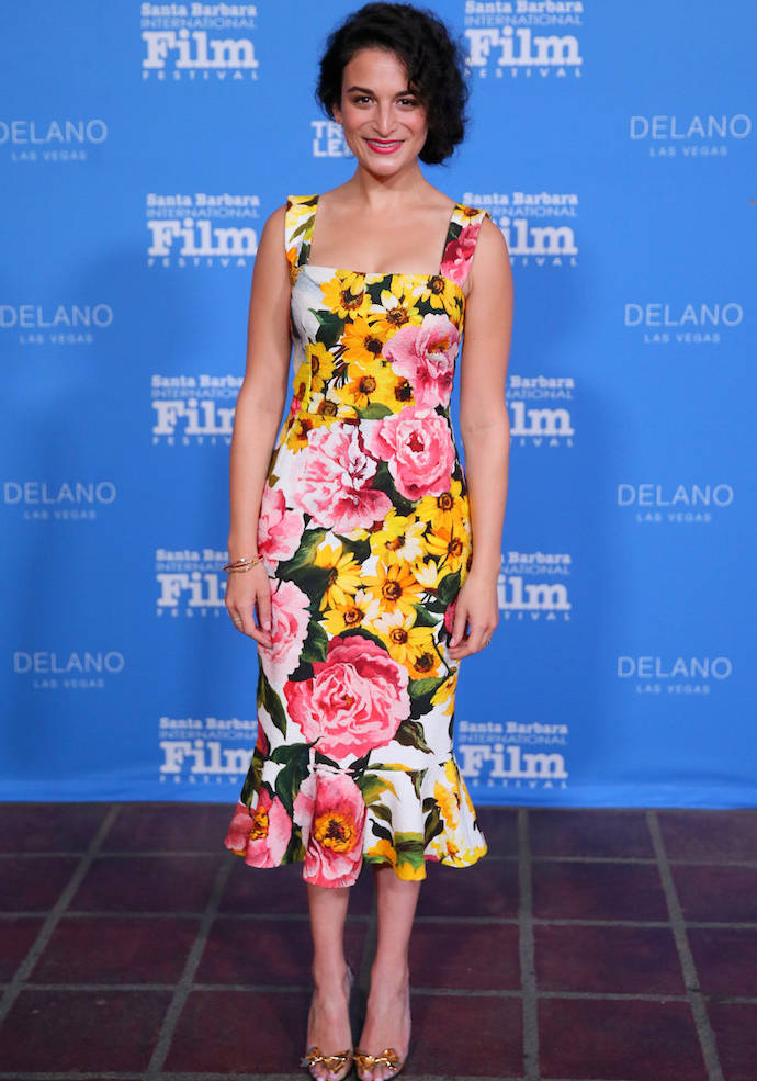 Jenny Slate Goes With A Floral Print At Virtuoso Awards