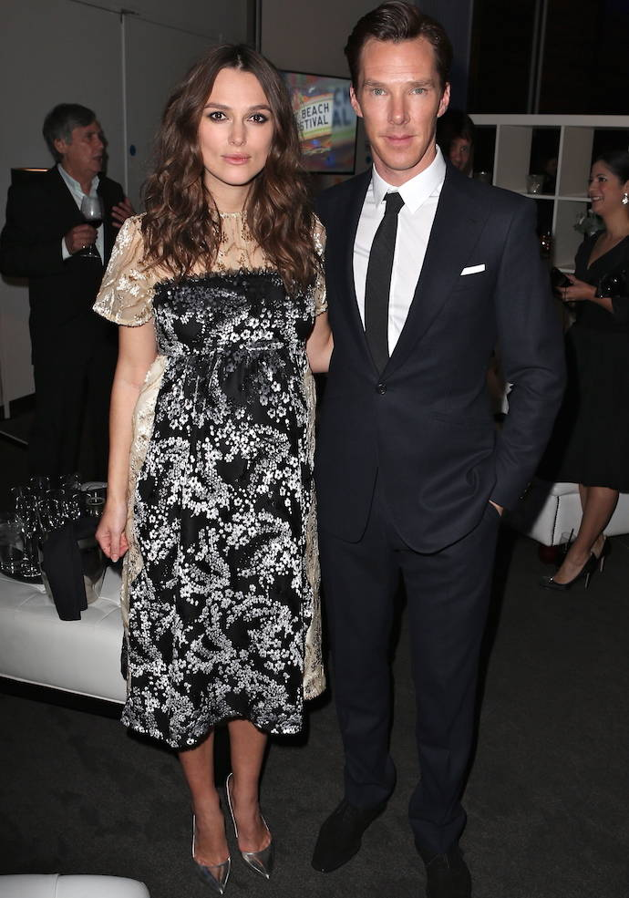 Keira Knightley Wows In Her Latest Maternity Look Alongside Benedict Cumberbatch At 'The Imitation Game' Event