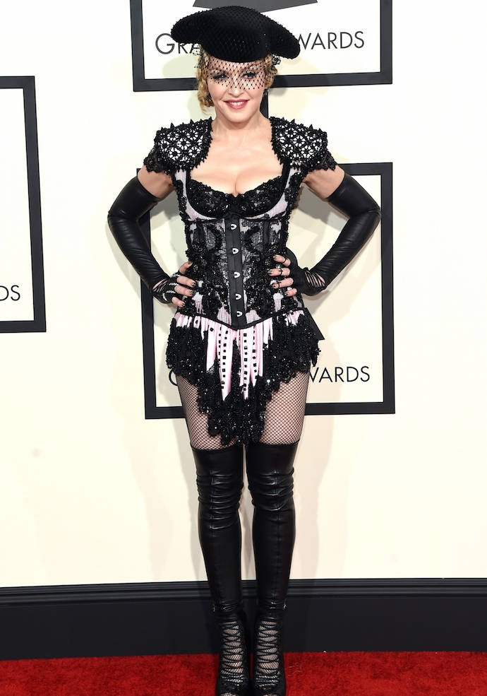 Get The Look: Madonna's Matador Outfit For Grammys 2015
