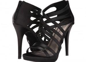 Get The Look: Sofia Vergara-Black Strappy Heels