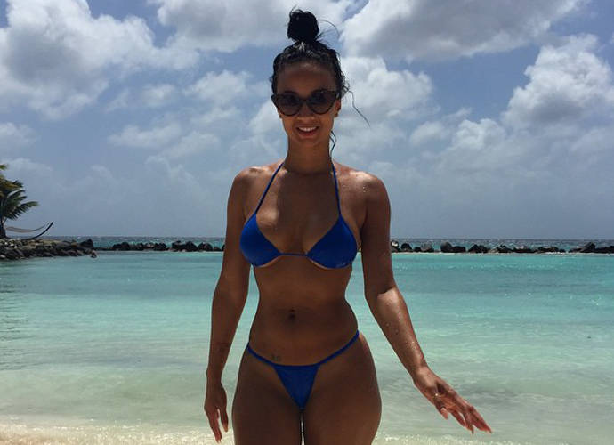 Draya Michele's Vacation In Aruba