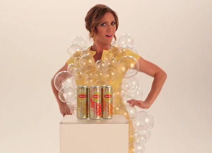 Brittany Snow Proves She's Bubbly In New Lipton Sparkling Iced Tea Campaign
