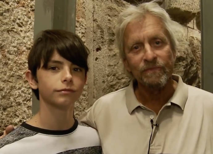 Michael Douglas Details His Teenage Son's First Experience With Anti-Semitism In Op-Ed