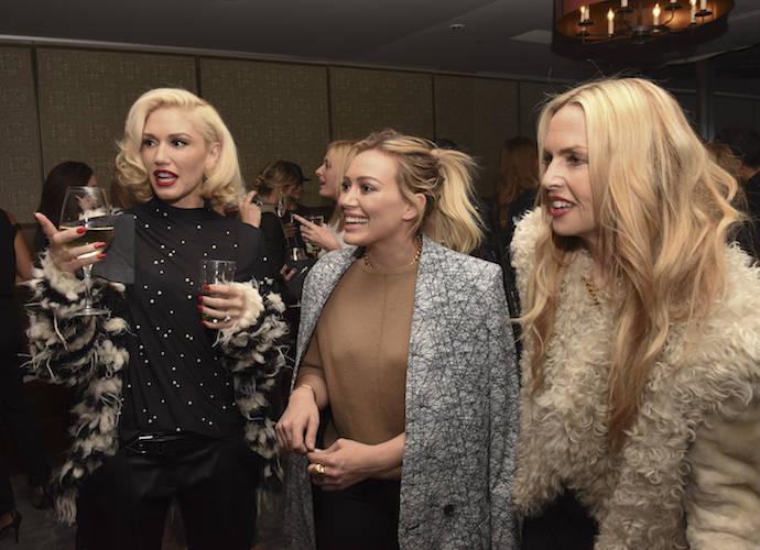 Gwen Stefani,Hilary Duff & Rachel Zoe Attend Jewelry Launch Party