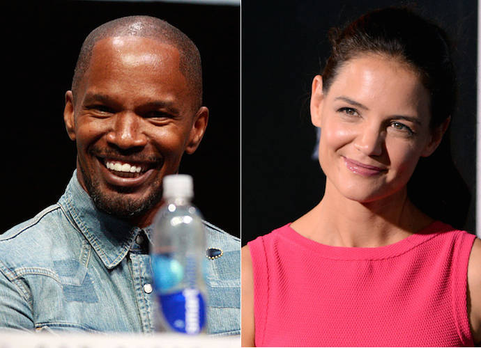Claudia Jordan Walks Backs Confirmation Of Jamie Foxx, Katie Holmes Romance