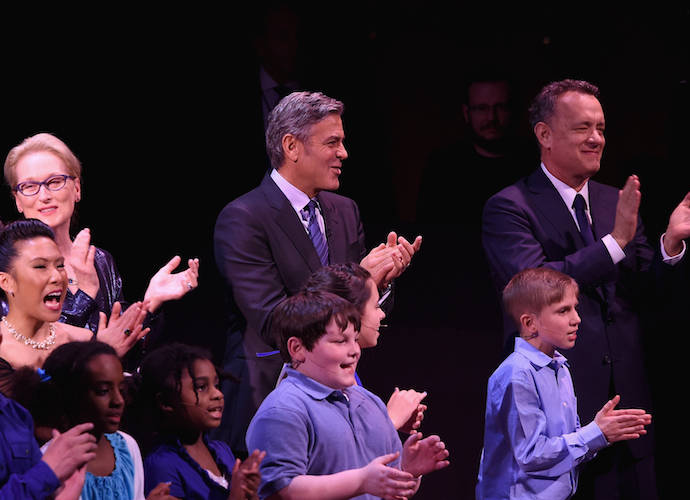 Meryl Streep, George Clooney & Tom Hanks Celebrate Paul Newman With SeriousFun Children's Network