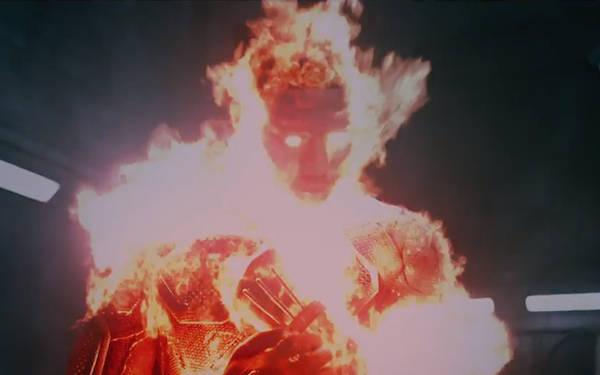 Fantastic Four trailer-Human Torch