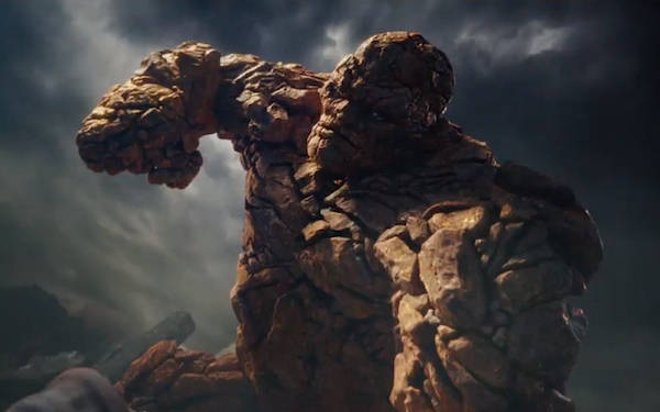 Fantastic Four trailer-The Thing