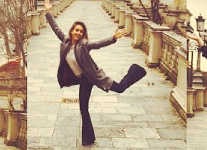 Jessica Alba Visits Italy For Business And Some Pleasure