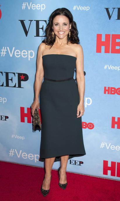 Julia Louis-Dreyfus Doesn't Think 'Veep' Is A Parody