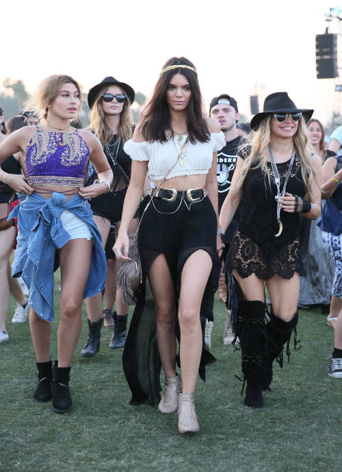 Get The Look For Less: Kendall Jenner's Gypsy Look At Coachella 2015
