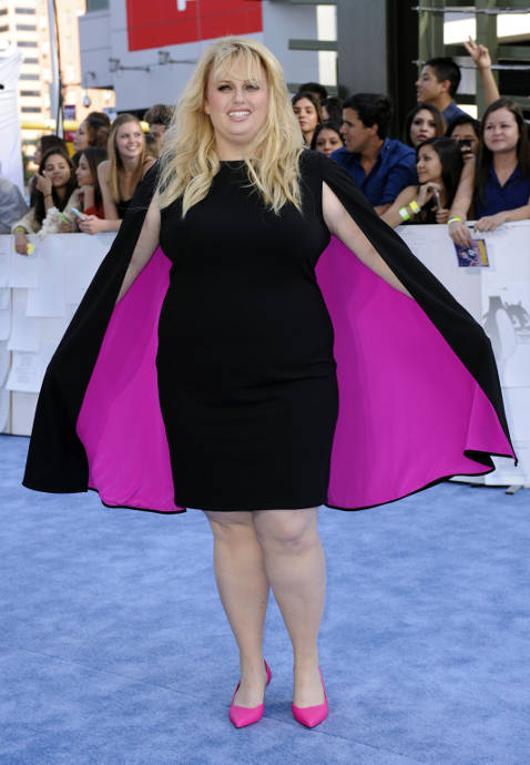 Get The Look For Less: Rebel Wilson Dons A Cape At 2015 MTV Movie Awards