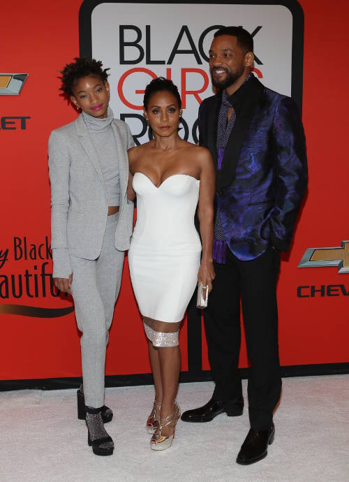 Get The Look: Will, Jada And Willow Smith At Black Girls Rock