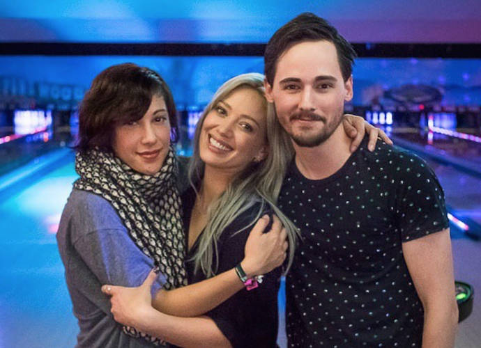 Hilary Duff, Lalaine And Jake Thomas Have Mini 'Lizzie McGuire' Reunion