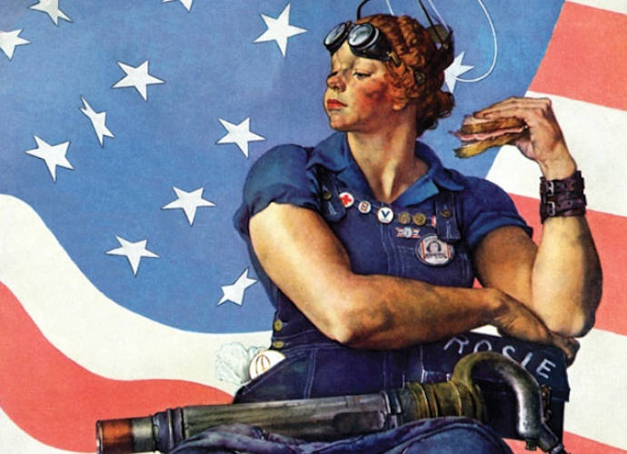 Mary Doyle Keefe, 'Rosie the Riveter' Model, Dies At 92