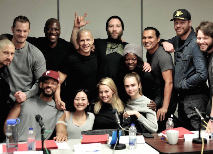 David Ayer Debuts 'Suicide Squad' Cast Photo, Featuring New Cast Member Ike Barinholtz