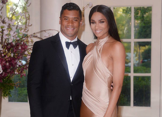 Russell Wilson Brings Ciara To White House State Dinner