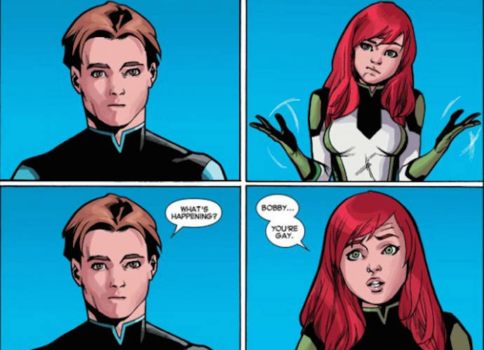 'X-Men's Iceman Comes Out As Gay In Latest Comic