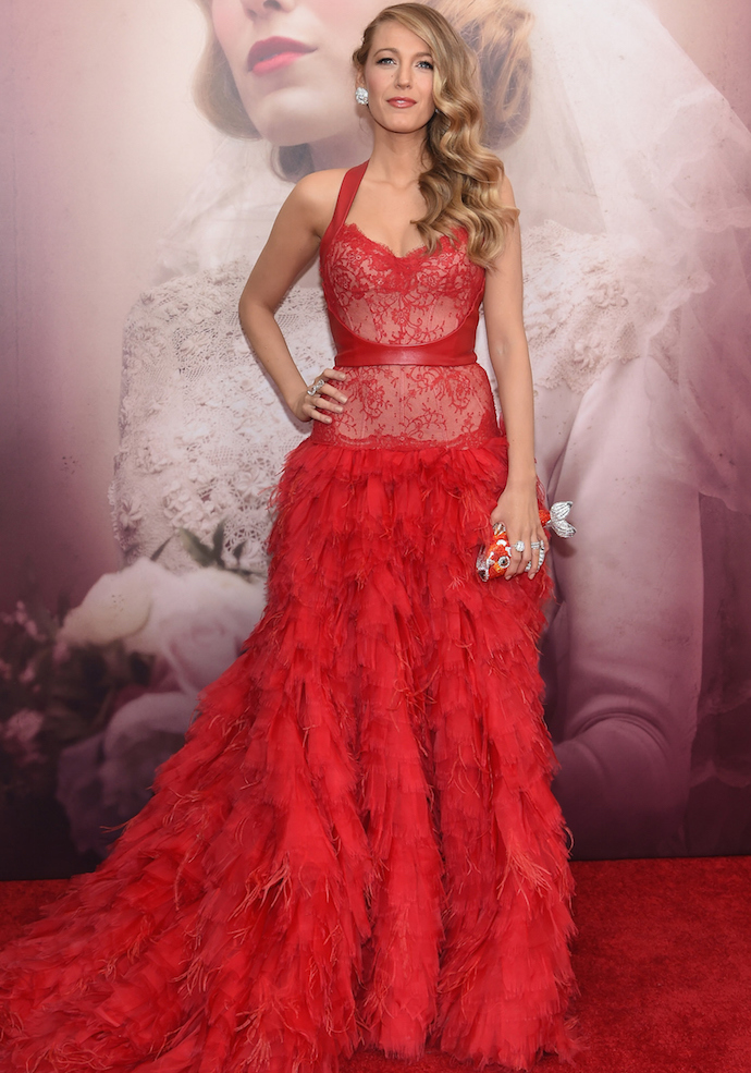 Blake Lively Stunned On 'The Age Of Adaline' Red Carpet