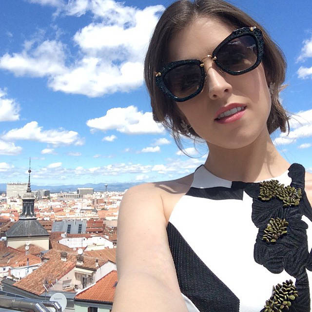 Anna Kendrick's Stylish Trip To Spain