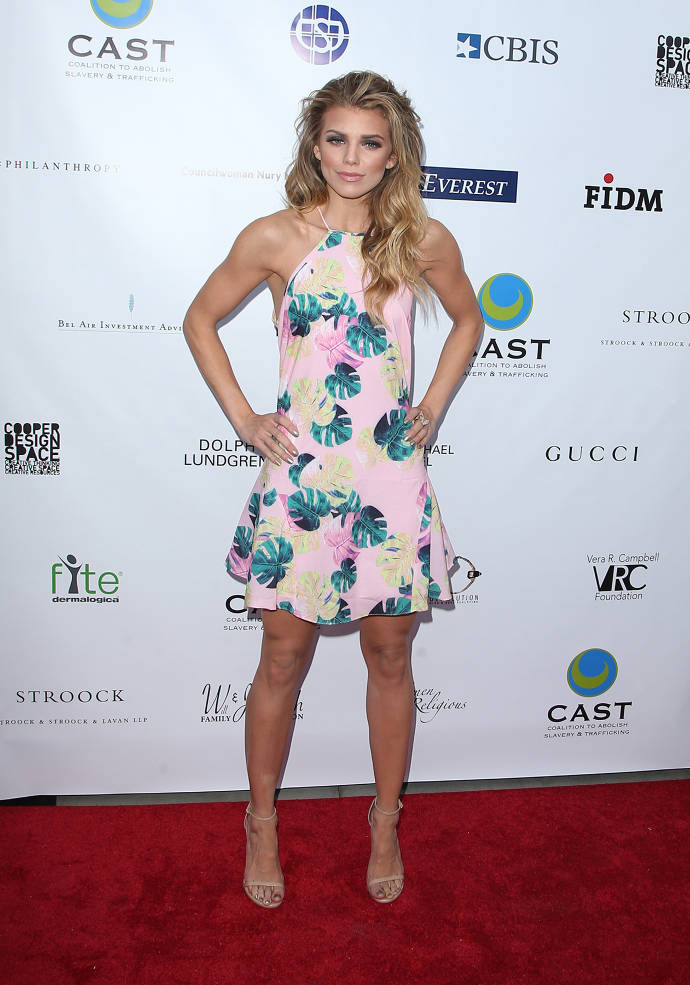 Get The Look For Less: AnnaLynne McCord's Spring Floral Dress