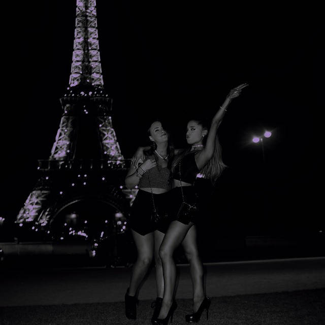 Ariana Grande's Night Out In Paris