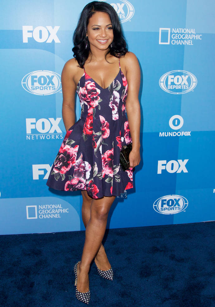 Get The Look For Less: Christina Milian's Floral Dress