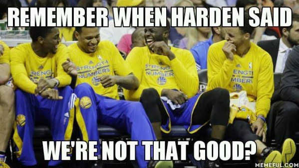 Hilarious James Harden And Steph Curry Memes