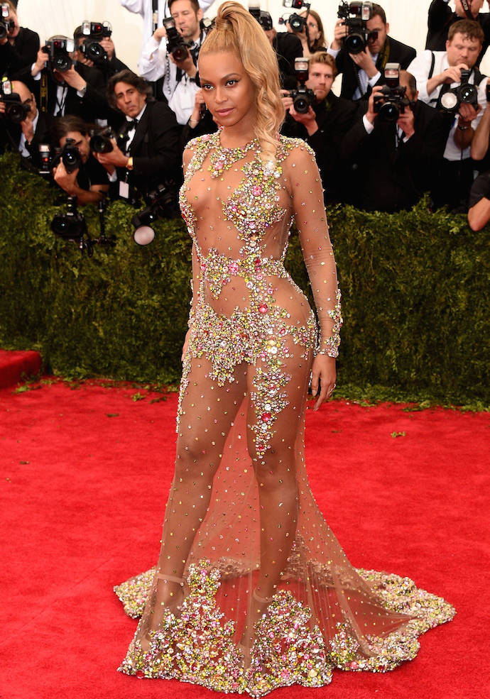 Beyonces Met Gala 2015 Dress Is The Naked Dress To End