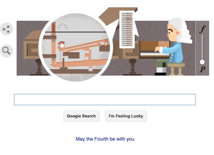 Google Doodle Celebrates Bartolomeo Cristofori, Inventor Of The Piano