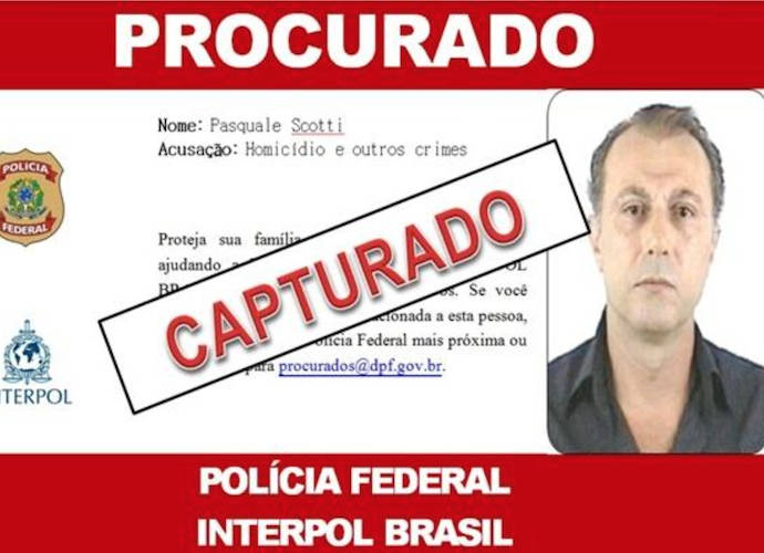 Pasquale Scotti Arrested In Brazil After 30 Years On The Run