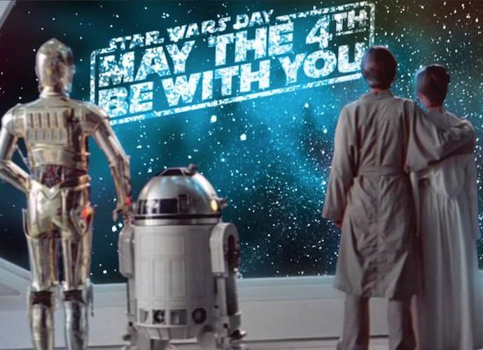Star Wars Day Celebrations: First Photos Of Adam Driver, Gwendoline Christie Released #MayTheFourthBeWithYou