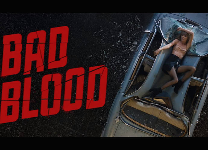 "Taylor Swift Released Epic ""Bad Blood"" Music Video"