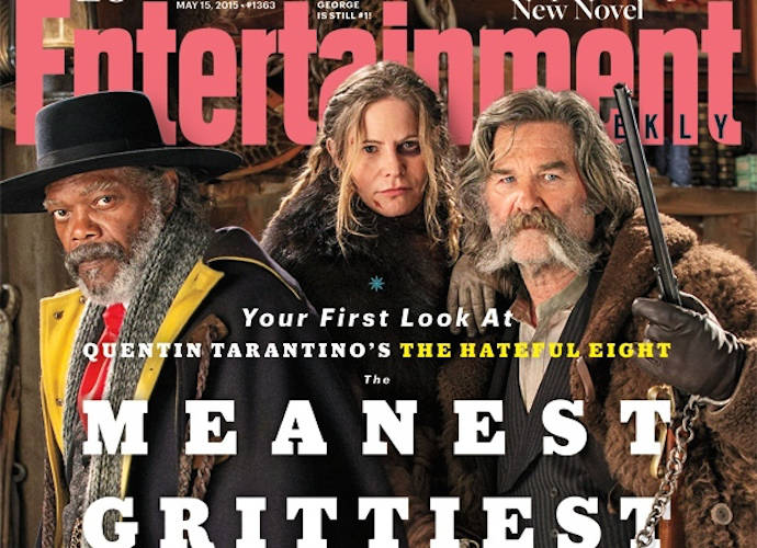 First Photos Of 'The Hateful Eight' Revealed