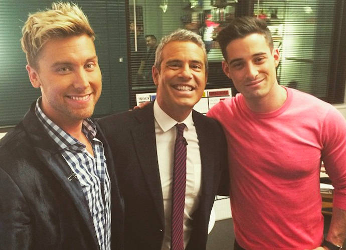 Lance Bass Rejects Andy Cohen's Claim That They Had Sex