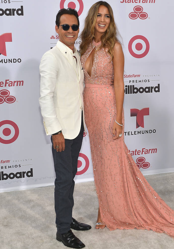 Marc Anthony and Shannon De Lima Attended 2015 Billboard Music Awards Together
