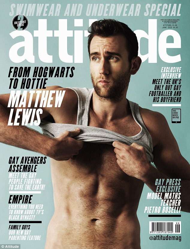 Matthew Lewis Underwear Photos: J.K. Rowling Jokingly Scolds 'Harry Potter' Actor