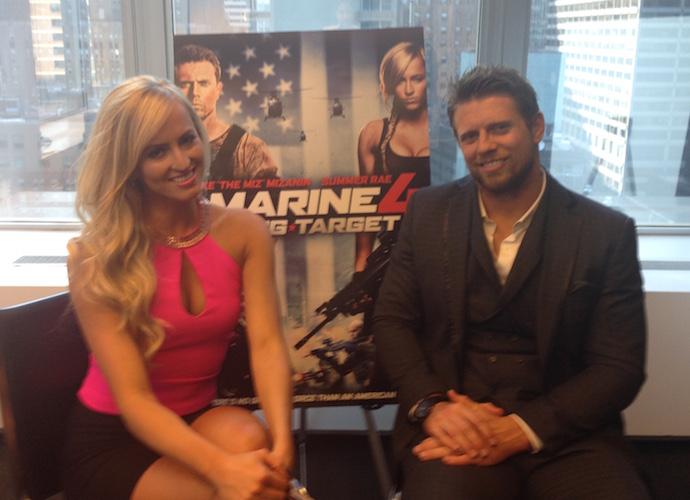 Mike 'The Miz' Mizanin & Summer Rae On 'Marine 4,' & WWE [EXCLUSIVE]