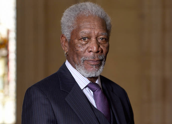 Morgan Freeman Does Dramatic Reading of Justin Bieber's 'Love Yourself'