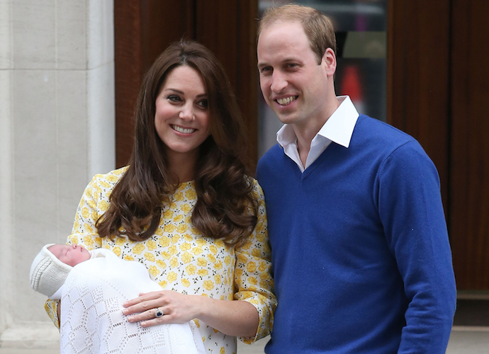 Princess Charlotte Elizabeth Diana: Duke And Duchess Announce Name Of Their Daughter